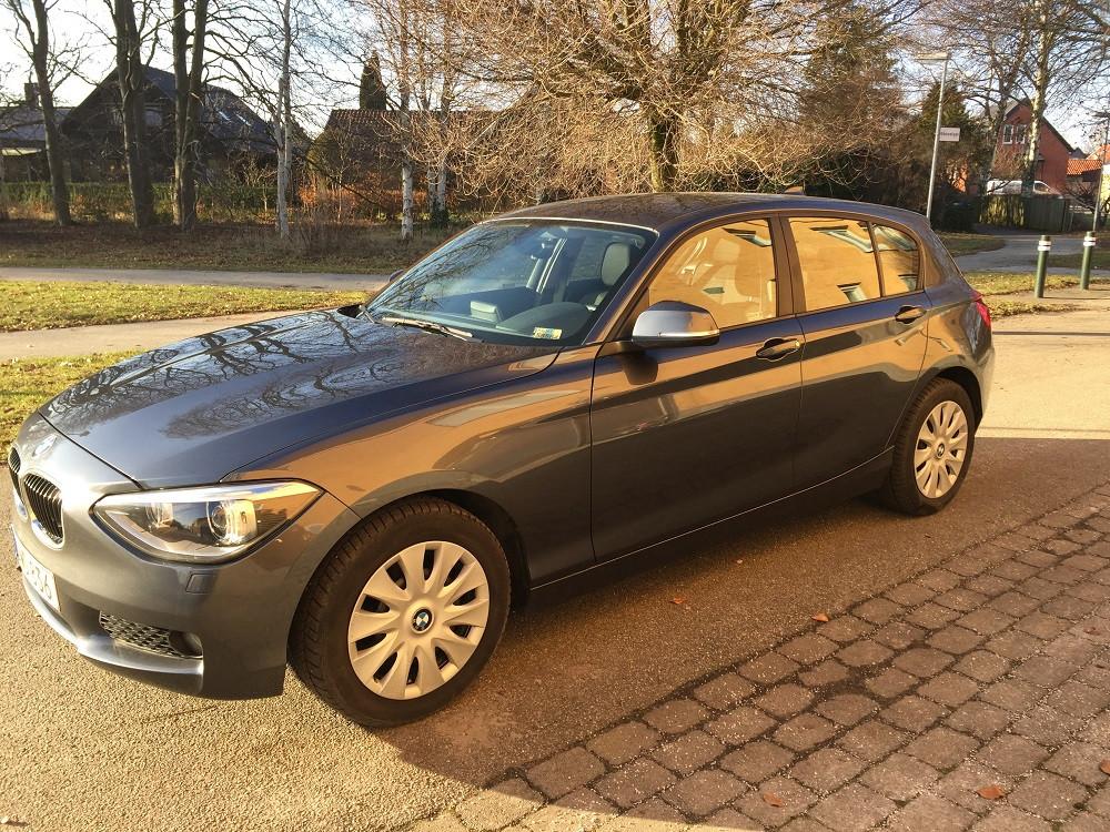 BMW 1-Series, 2015