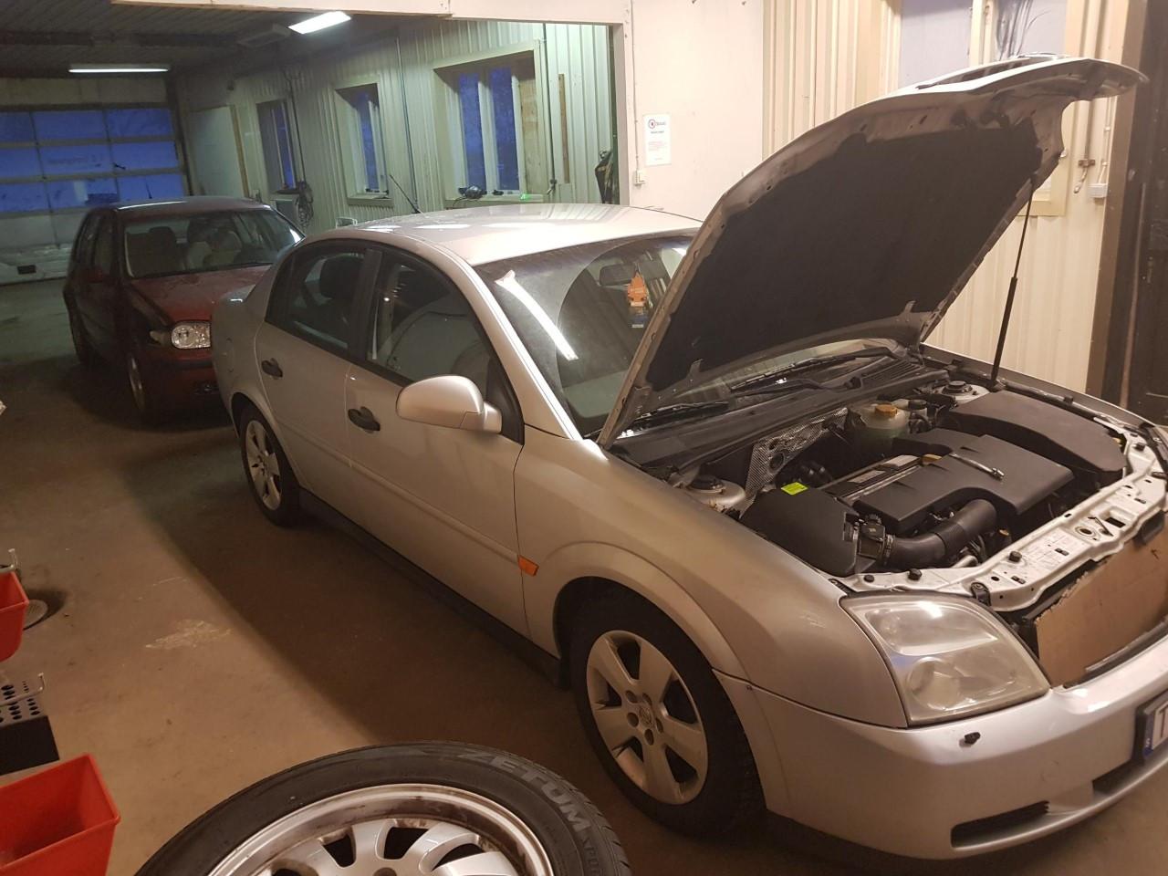 Opel Vectra, 2002