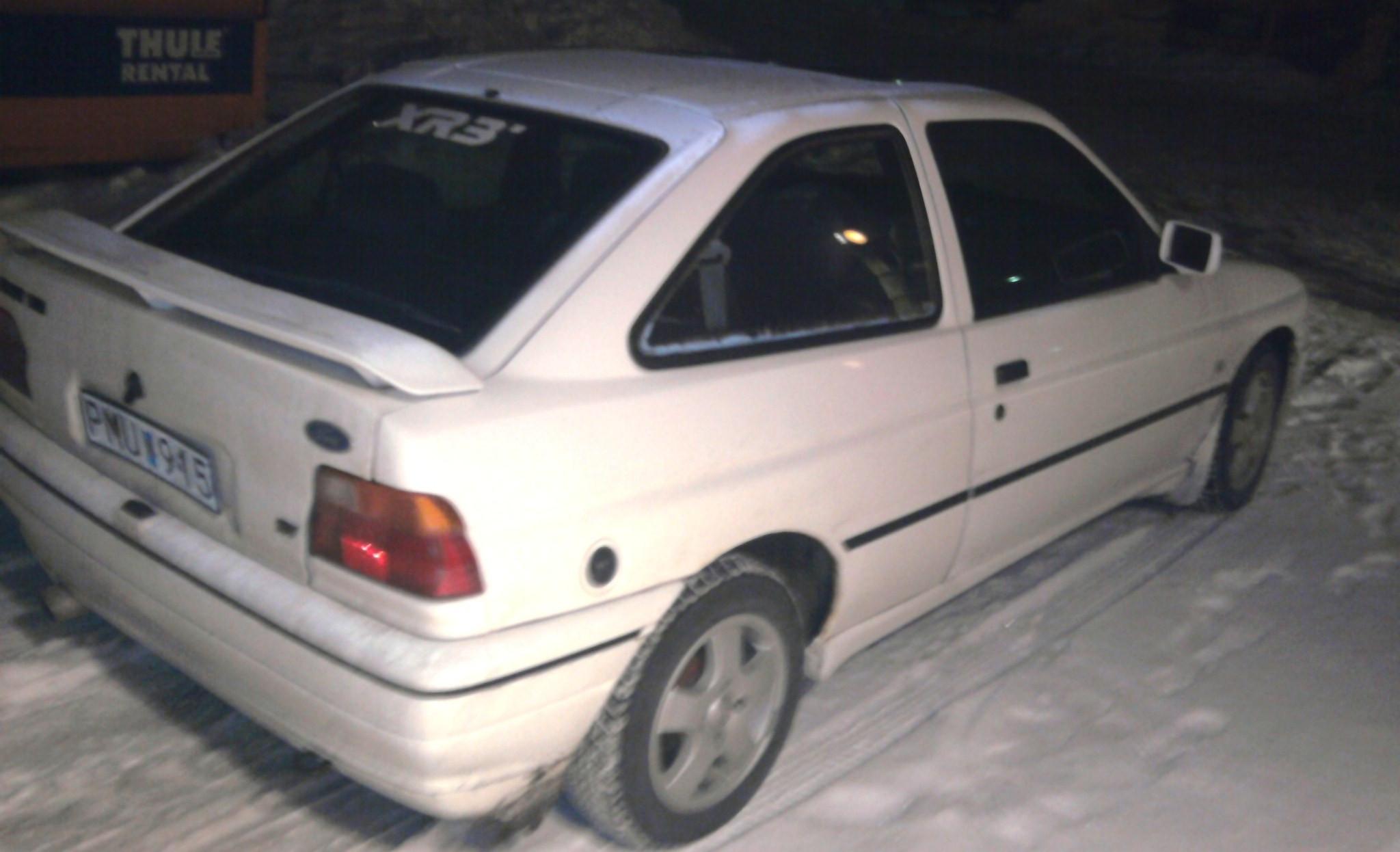 Ford Escort, 1990