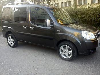 Airbag Säkerhetsbälte till Fiat Doblò, 2007