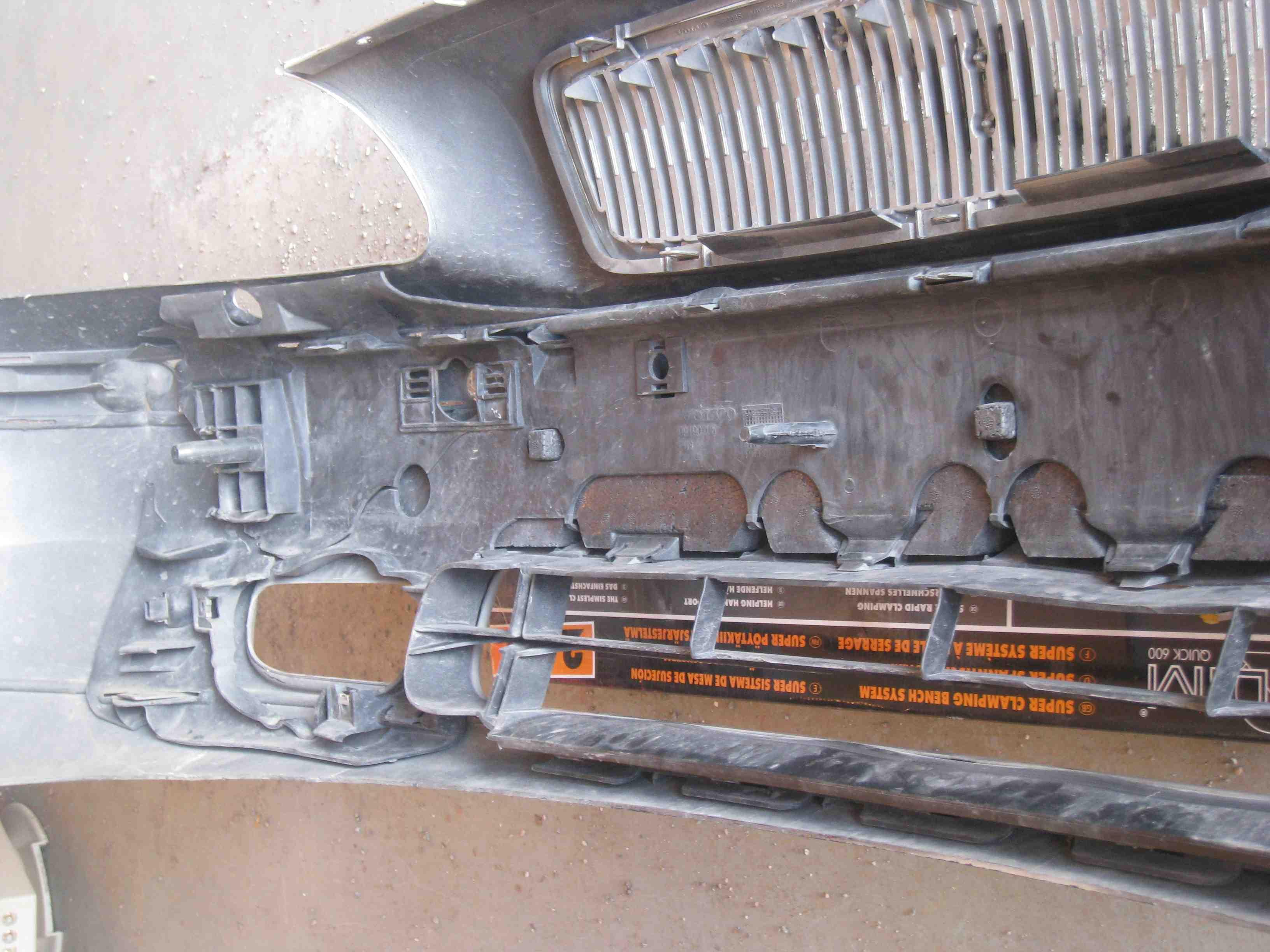 Stötfångare fram till Volvo S70, V70, V70 XC, 2000
