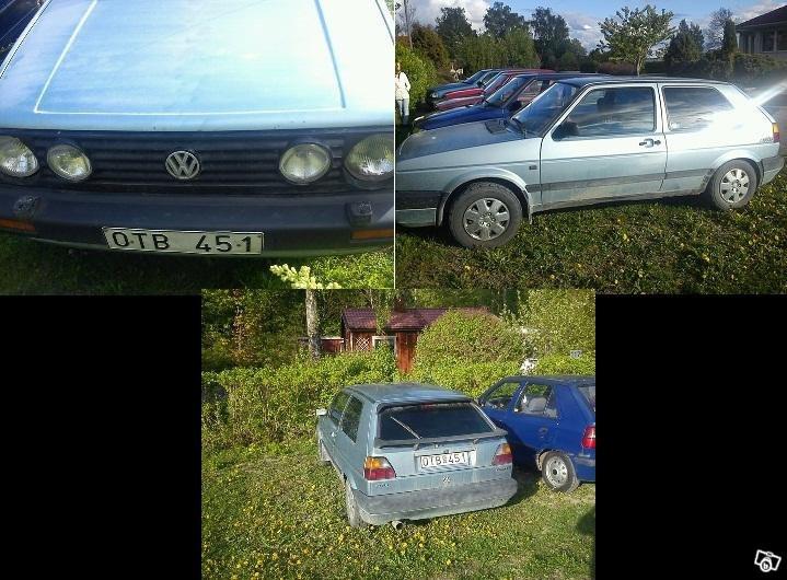 VW Golf, 1989